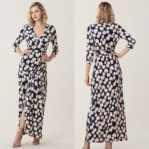 DVF Diane Von Furstenburg Abigail Maxi Dress